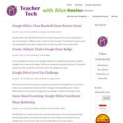Gamification Archives - Teacher Tech