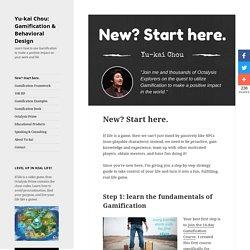 Gamification beginner? Then start here.