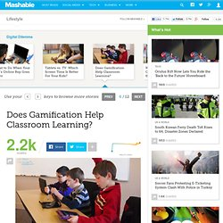 Does Gamification Help Classroom Learning?