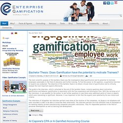 Gamification Platform Matrix