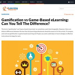 Gamification vs Game-Based eLearning: Can You Tell The Difference?