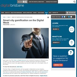 Smart city gamification on the Digital Week