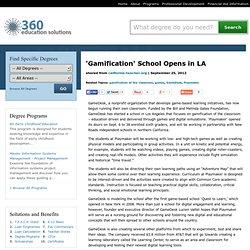 'Gamification' School Opens in LA