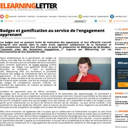 Badges et gamification au service de l'engagement apprenant