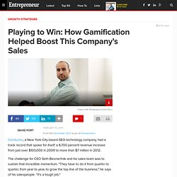 Playing to Win: How Gamification Helped Boost This Company's Sales