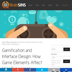 Gamification and Interface Design: How Game Elements Affect User Experience
