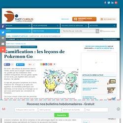 Gamification : les leçons de Pokemon Go