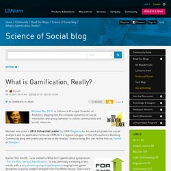 What is Gamification, Really?