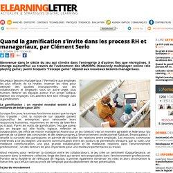 Quand la gamification s'invite dans les process RH et manageriaux, par Clément Serio