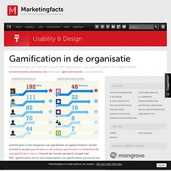 Gamification in de organisatie