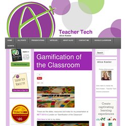 Gamification of the Classroom