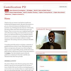 Gamification PD