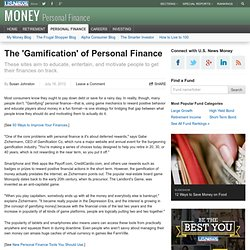 The 'Gamification' of Personal Finance