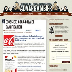 Top Gamification pour Coca Cola Hong Kong
