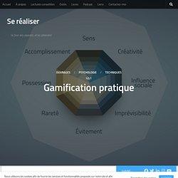 Gamification pratique - Se réaliser