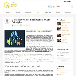 Gamification and Education: the Core Principles - Hive NYC