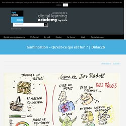 Gamification – Qu'est-ce qui est fun ?