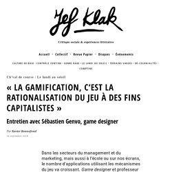 une critique de la gamification et de ses fins capitalistes