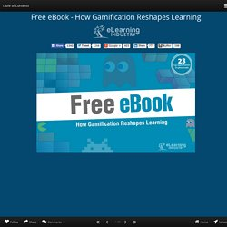 Free eBook - How Gamification Reshapes Learning
