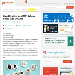 Gamification And UX: Where Users Win Or Lose