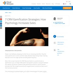 7 CRM Gamification Strategies
