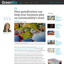 How gamification can help your business play on sustainability's team