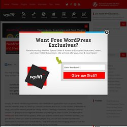 WordPress Gamification: Techniques, Examples and Free Plugins -
