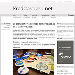 La gamification au service de la rétention et de la transformation