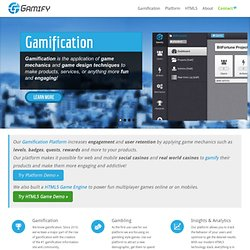 Gamify | The Gamification Platform