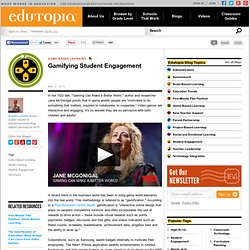 Gamifying Student Engagement