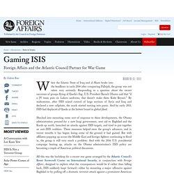 Gaming ISIS