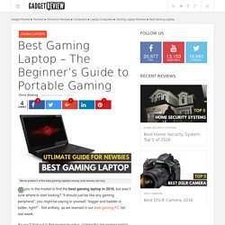 Best Gaming Laptop 2016