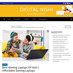 Best Gaming Laptop in India & World