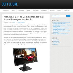 Best 4K Gaming Monitor Review