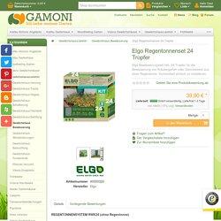 Ich liebe meinen Garten. Elgo Regentonnenset 24 Tropfer