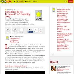 Ganadores de los Permios CLAP Branding 2013