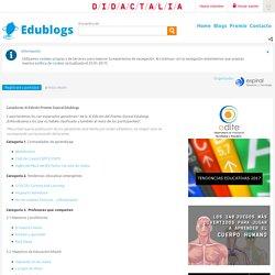 Ganadores XI Edición Premio Espiral Edublogs