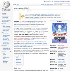 Gandahar (film) - Wikipedia