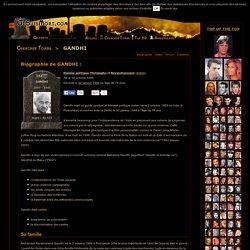 GANDHI : Biographie de GANDHI