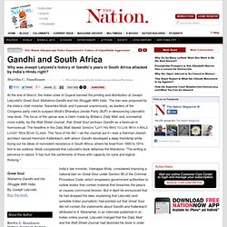 Gandhi and South Africa