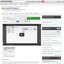 GanttProject | Free Business & Enterprise software downloads at SourceForge