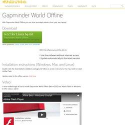 Gapminder World Offline