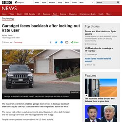 Garadget faces backlash after locking out irate user