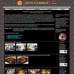 Nick's Garage - Air Cleaner Identification