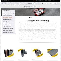 Rubber mats for garage floors - Rubber-Cal Inc.