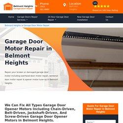 Garage Door Motor Repair Belmont Heights