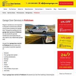 Garage Door Services Pottstown