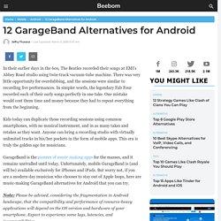 12 alternatives de GarageBand pour Android (2020)