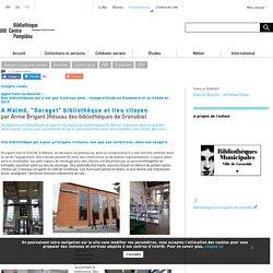 """A Malmö, """"Garaget"""" bibliothèque et lieu citoyen"""