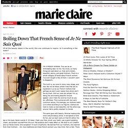 Garance Doré Boils Down French Style